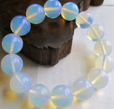 10mm very beautiful genuine natural australian opal bead bracelet