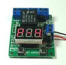 Multi-function 5V Relay Timer Time Voltage Meter Test Control Count Relay Switch