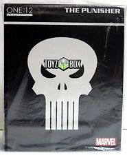 """In STOCK Mezco One 12 Collection """"The Punisher"""" Marvel Comics 1/12 Action Figure"""