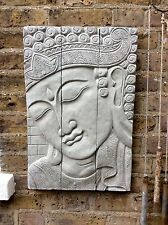 Very Large Divine Buddhas Wall Plaque( 18kg) Unique From The Designer Sius.