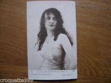 carte postale ancienne CPA Postcard LES PLUS BELLES FEMME DE FRANCE emeraude 2