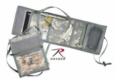 ACU DIGITAL CAMO TRIFOLD ID HOLDER - ADJUSTABLE NECK STRAP -DELUXE- ROTHCO 1240