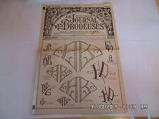 LE JOURNAL DES BRODEUSES JOURNAL PROFESSIONNEL N°808 JUILLET 1962    I24