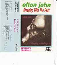 K7 AUDIO (TAPE)  ELTON JOHN *SLEEPING WITH THE PAST*   (MADE IN JAPAN)