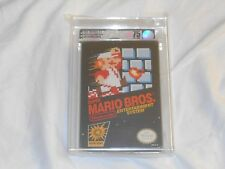 NEW Super Mario Bros. Nintendo NES VGA 75 EX+/NM Graded Silver Sealed brothers 1