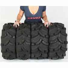 25x8-12, 25x10-12 KENDA K538 EXECUTIONER ATV UTV FRONT & REAR TIRE KIT - 4 TIRES