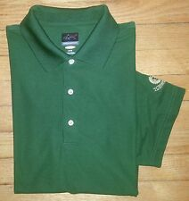c983 M Solid Green GREG NORMAN Play Dry Shark Logo Golf Polo!