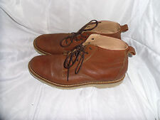 BEN SHERMAN MEN BROWN LEATHER LACE UP ANKLE BOOTS  SIZE UK 8 EU 42 US 8.2  VGC