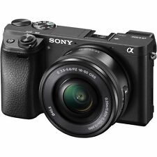 Sony Alpha a6300 Mirrorless Digital Camera with 16-50mm Lens Kit