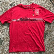 NWT Official Ferrari Acceleration Red T-Shirt Size: Large
