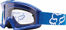 Maschera Cross Enduro DH FOX Mx Main Blu Bianco / Clear Goggle Gafas