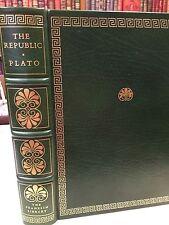Franklin Library: Plato: The Republic: Government: Greece: Socrates: Aristotle