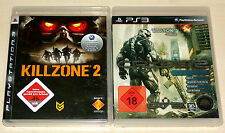 2 PLAYSTATION 3 SPIELE SET - KILLZONE 2 & CRYSIS 2 LIMITED EDITION - PS3