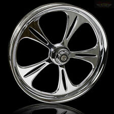 "Harley Davidson Street Glide 21"" Inch Custom Chrome Front Wheel ""The Raptor"""