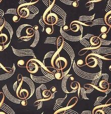 """Andreas Silicone MUSIC 8"""" Gold Black Trivet. Really Beautiful, Dishwasher safe!"""