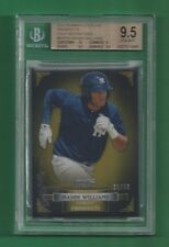 MASON WILLIAMS 2012 Bowman Sterling Gold Refractor RC #/50 BGS 9.5