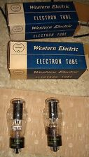 WESTERN ELECTRIC 350-B NOS TUBES- 6L6 - EL37 MATCHED PAIR