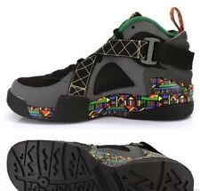 NEW MENS NIKE AIR RAID URBAN JUNGLE BLACK GRAY PEACE RASTA SIZE 9.5