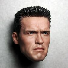 """1:6 Arnold Head Carved Terminator 2 T800 For 12"""" Action Figure"""