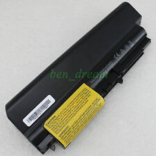 "7800mah Battery For Lenovo ThinkPad R61 R61i T61 Series(14.1"" widescreen) 9Cell"