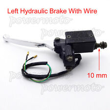 Left Hydraulic Master Cylinder Handle Brake Lever For Chinese ATV Pit Dirt Bike