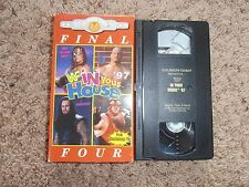 IN YOUR HOUSE FINAL FOUR 1997 97 wwf NON-RENTAL vhs COLISEUM VIDEO