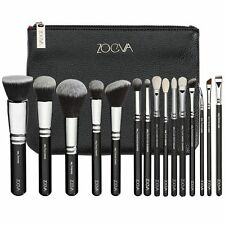 ZOEVA Makeup Noir Complete Eye Set 15 Pinceaux + Clutch