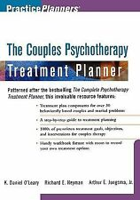 The Couples Psychotherapy Treatment Planner by K Daniel O'Leary