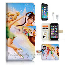 iPhone 7 (4.7') Flip Wallet Case Cover P3519 TinkerBell