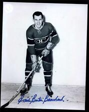 3 1940s Dec Montreal Canadiens HOF'ers Signed 8x10 Photos Lach Bouchard Reardon