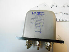 227-C-984 LEACH RELAY  115VAC-5AMP-3PDT-5000 OHMS NEW OLD STOCK