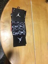 Nike Air Jordan Sneaker+ Crew Socks Size Large