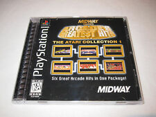 Arcades Greatest Hits Atari Collection 1 (PlayStation PS1) Complete Excellent!