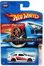2006 Hot Wheels #02 First Edition Toyota AE-86 Corolla FTE