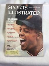Sports Illustrated April 13, 1959 Willie Mays Old Race Cars