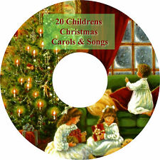 20 Childrens Sing-A-Long Christmas Carols & Songs on CD - UK Free Post