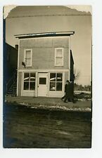 "Henry Sandrock Harness Shop RPPC ""Out of Business"" Antique Storefront Photo~1910"