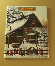 Best of Times by Charles Wysocki CHRISTMAS COCOA BREAK AT COPPERFIELDS Plate #5