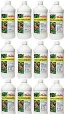 12 ea Alaska 100099247 Quart Fish Emulsion Liquid Organic Fertilizer