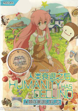 (A01) Humanity Has Declined ( Episode 1 - 12 End ) DVD Box Set + Free Gift