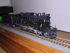 "BRASS N.J.Custom  Reading L7sb 4-6-0 Camelback Steam Loco #602 ""H.O.Gauge"""