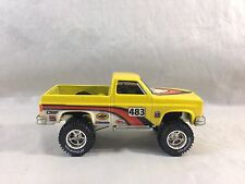 Hot Wheels Off Road Racing Chevy Silverado 4x4  w/ Real Riders ~LOOSE~ ~~NR~~