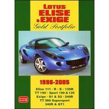 Lotus Elise & Exige Gold Portfolio 1996-2005 paper book