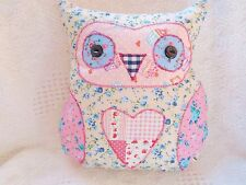 Cupcake Fabric Owl Cushion Kit Childrens Patchwork Sewing Craft Kit Gorgeous!