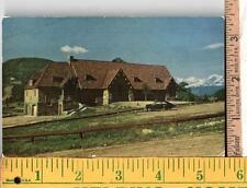 1940s UNUSED POST CARD OUR LADY OF THE MOUNTAINS CHURCH ESTES PARK, CO