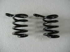 Pair of coil springs for easy entry mini, pony or horse cart