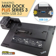 Thinkpad Mini Docking Station Plus USB 3.0 Lenovo T530 T520 T430 T420 T410 W510