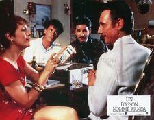 JAMIE LEE CURTIS  KEVIN KLINE  A FISH CALLED WANDA 1988 VINTAGE LOBBY CARD #3