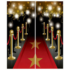 Hollywood Fiesta Premio's Night RED Carpet Escena Setter Pared Decoración Kit