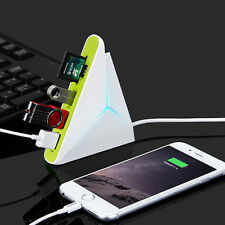 High Speed LED Light Mini 3 Ports USB 3.0 HUB With SD TF SD Card Reader Cable